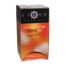 Oolong Tea Coconut Mango Stash Tea 18 Bag