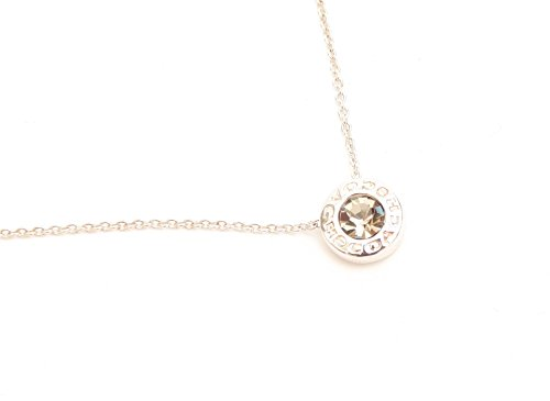 COACH SILVER OPEN CIRCLE STRAND NECKLACE F54514 ()