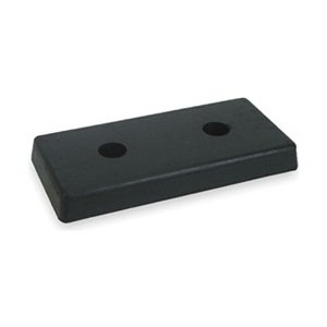 Industrial Grade 2MYR2 Dock Bumper, Rubber, HxDxW 8x2x18 In by Industrial Grade