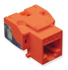 ICC ICC-CAT5JKPK-RD IC107E5CRD - 25PK Cat5 Jack - Red by ICC