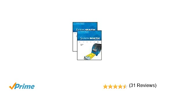 Amazon.com: Saxon Math Intermediate 5, 2 volumes, Teacher's ...
