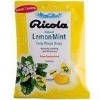 Cough Drops - Lemon Mint - 24 - Lozenge (60 Pack)