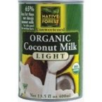 Edward and Sons Organic Lite Coconut Milk, 14 Ounce - 12 per case.
