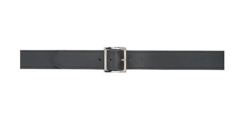 Safariland Duty Gear Garrison Chrome Buckle Belt (Basketweave Black, 42-Inch) (Garrison Buckle)