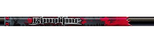 Easton 918779 Bloodline Arrow Shafts, Black