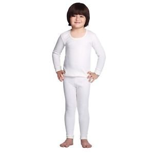 ea5c56eb1 Bodycare Kids Thermal Set of 1 Lower and 1 Top (Off White)  Amazon ...