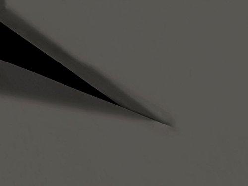 HnL Split geteilte Topper Spannbettlaken Perkal in grau 160x200 cm