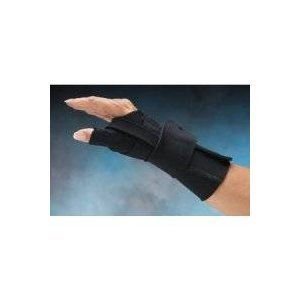 - Rolyn Prest Comfort Cool Wrist & Thumb CMC Restriction Splint Size: Left M 7-8 (18-20 cm) - Model 55049402