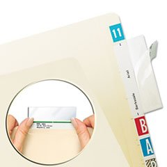 Tabbies Protector, Top Tab Folder, 3 1/2 x 2, Clear, for sale  Delivered anywhere in USA