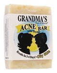Grandma's Pure & Natural Acne Bar for Oily Skin 4 oz
