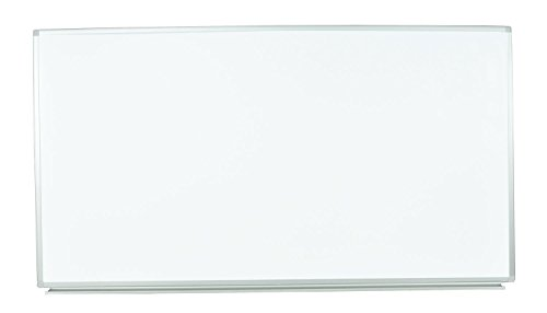 Luxor WB7240W Wall Mount Whiteboard, 72'' W x 40'' H x 1'' D by Luxor