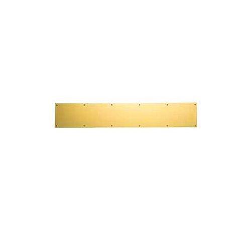 Baldwin Kick Plate (Baldwin Estate 2000.003.0634 Kick Plate in Polished Brass, 6