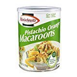 Manischewitz Pistachio Orange Macaroons Kosher For Passover 10 Oz. PK (Kosher Pistachios)