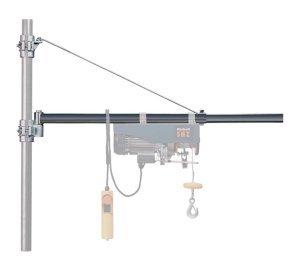 codici promozionali ordine orologio Braccio orientabile per paranco elettrico Portata Kg 600/300 Allungabile cm  75/110