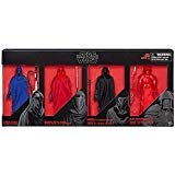 Star Wars The Black Series Guard Action Figure 4 Pack Exclusive Senate, Imperial Royal, Emperors Shadow and Elite praetorian