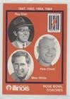 Rose Bowl Coaches (Football Card) 1990 University of Illinois Fighting Illinini 100 Years of Tradition Team Issue - [Base] #12