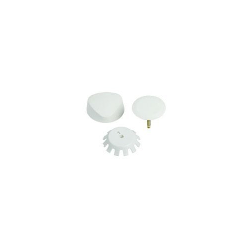 Geberit 151.550.FF.1 Traditional Plastic TurnControl Trim Kit, Biscuit by Geberit