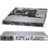 Supermicro SuperServer 6017B-MTRF Barebone System - 1U Rack-mountable - Intel C602 Chipset - Socket B2 LGA-1356 - 2 x Processor SYS-6017B-MTRF
