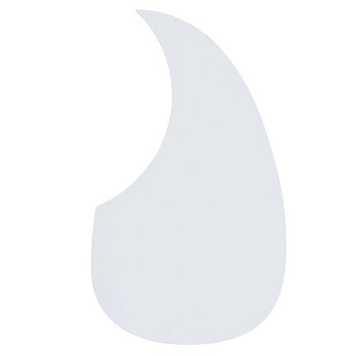 White acoustic guitar pickguard