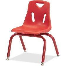 Jonti-Craft 8120JC1008 Berries Plastic Chairs with Powder Coated Legs, 10