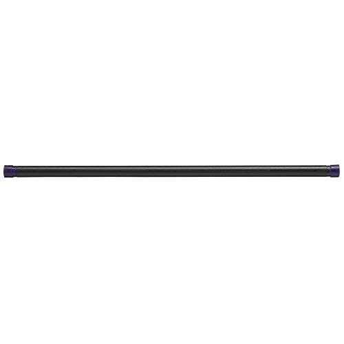 Body-Solid Tools Weighted Bar, 24 Pounds, Dark Purple