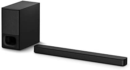 Amazon Com Sony Ht S350 Soundbar With Wireless Subwoofer S350 2 1ch Sound Bar And Powerful Subwoofer Home Theater Surround Sound Speaker System For Tv Blutooth And Hdmi Arc Compatible Bar Black Electronics