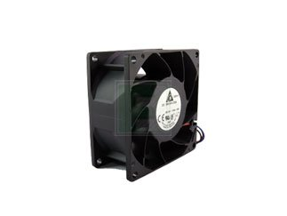 DELTA PRODUCTS FFB0812SHE FFB Series 4900 RPM 80 x 80 x 25.4 mm 68.51 CFM 12 V Ball Bearing Fan - 1 item(s)