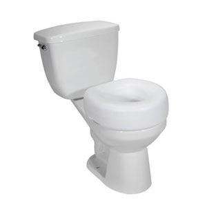 Drive Medical (a) Economy Raised Toilet Seat Retail Pack Each