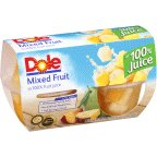 Dole Mixed Fruit In 100% Fruit Juice 16 OZ (Pack of 18) by Dole