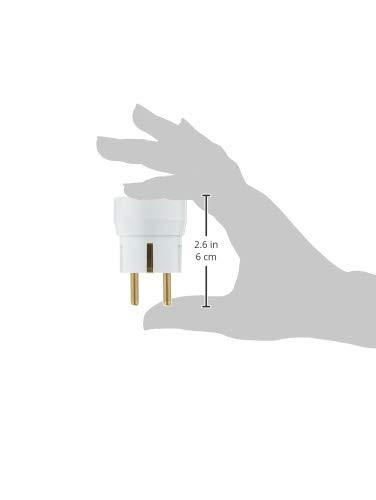 Ebenoid EBE310101 ADAPTEUR France//SCHUKO 16Amperes Blanc