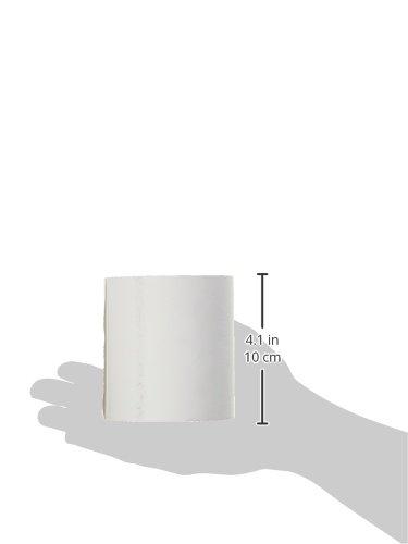 Produit Neutre Spool for Thermal Paper Till Roll 58/g 80/x 80/x 12/mm White Pack of 5