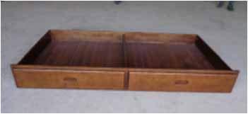 Coaster Home Furnishings 400325 Trundle, Walnut (Pine Homelegance Bed)