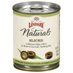 Lindsay Olives Natural Black Ripe Sliced, 3.8 OZ (Pack of 12)