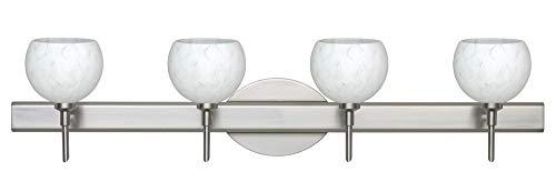 Besa Palla Bathroom Light - Besa Lighting 4SW-565819-LED-SN Palla 5-30.38