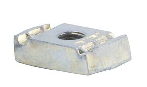 3/8'' Stainless Steel Clamping Channel Nut without Spring by Fastenal Approved Vendor