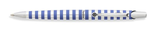 Franklin Covey Nantucket, Ballpoint Pen, Polished Aluminum with Cornflower Radial Pattern (FC0072IM-3)