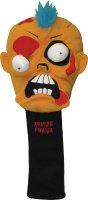 Winning Edge Designs Orange Zombie 460cc Golf Headcover Fred