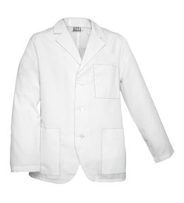 (White Swan Uniforms Men's White Consultation Coat)