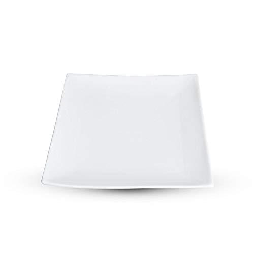 Korin Fusion White Square Plate 8