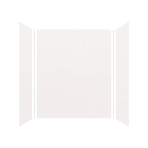 Shower Wall Kit - Transolid EWK603672-31 Expressions 3-Panel Shower Wall Kit 36-in L x 60-in W x 72-in H White