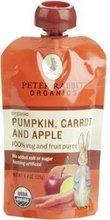 Peter Rabbit Organics Pumpkin Carrot & Apple Fruit Puree 10x