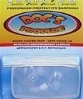 Doc's ProPlugs - Preformed Protective Earplugs (pair) Cle...