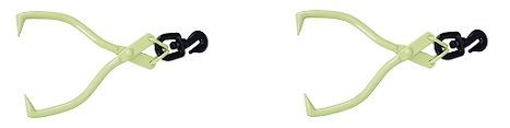 Timber Tuff TMW-02 Swivel Grab Skidding Tongs (2-Pack) by Timber Tuff