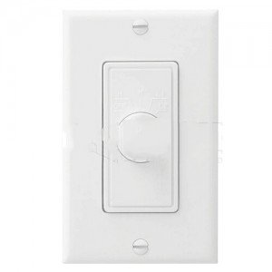 Nutone 78W Fan Speed Control 1.5A Four Speed Wall Control for Ceiling Fans - White-2PK by Nutone