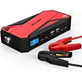 Powerful Jump Starter, 600A Peak 18000mAh Portable Car Jump Starter (Up To 6.5liter Gas, 5.2liter Diesel Engine), Battery Booster, Power Bank Charger with Smart Charging Port