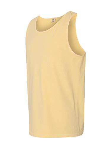 Comfort Colors C9360 Ringspun Garment Dyed Tank. - BUTTER - S
