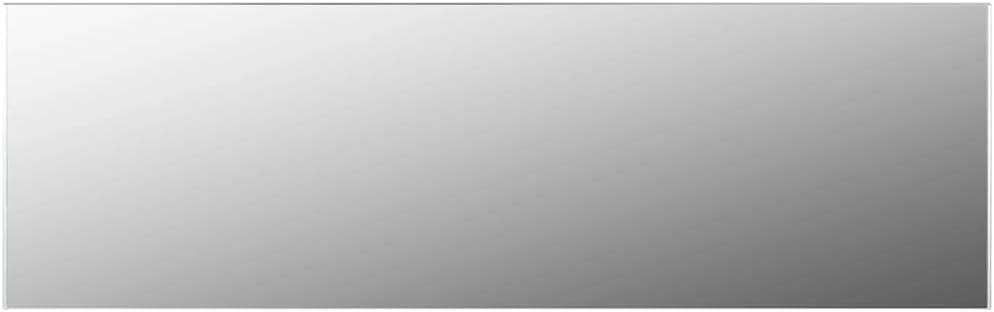 """Jinxuny Frameless Mirror 59""""x19.7"""" Glass"""