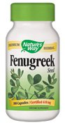 Nature's Way Fenugreek Seed, 610 mg