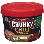 - Campbell's Chunky Chili with Beans Roadhouse Beef & Bean Microwavable Chili 15.25 oz (Pack of 8)
