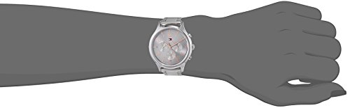 Tommy Hilfiger Unisex Multi Zifferblatt Quarz Uhr mit Edelstahl Armband 1781871 4